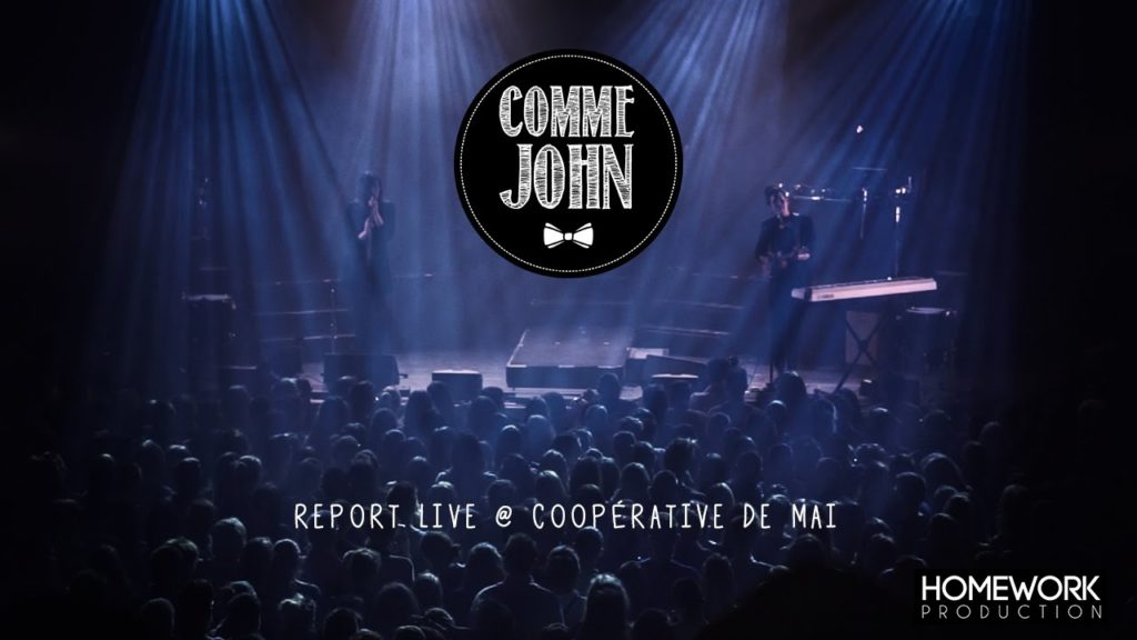 concert comme john coopérative de mai clermont-ferrand clermont video hmwk production audiovisuelle