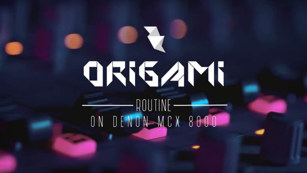 Logo Origami Routine LigOne Serato Denon HomeWork Production Audiovisuelle