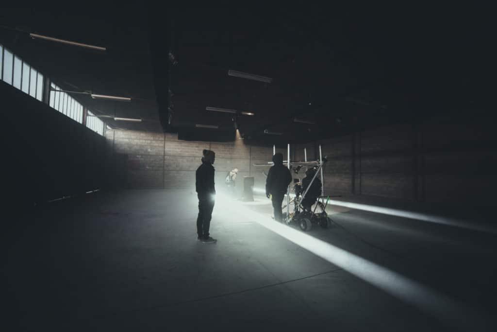 Backstage LigOne réalisation de vidéo promotionnelle