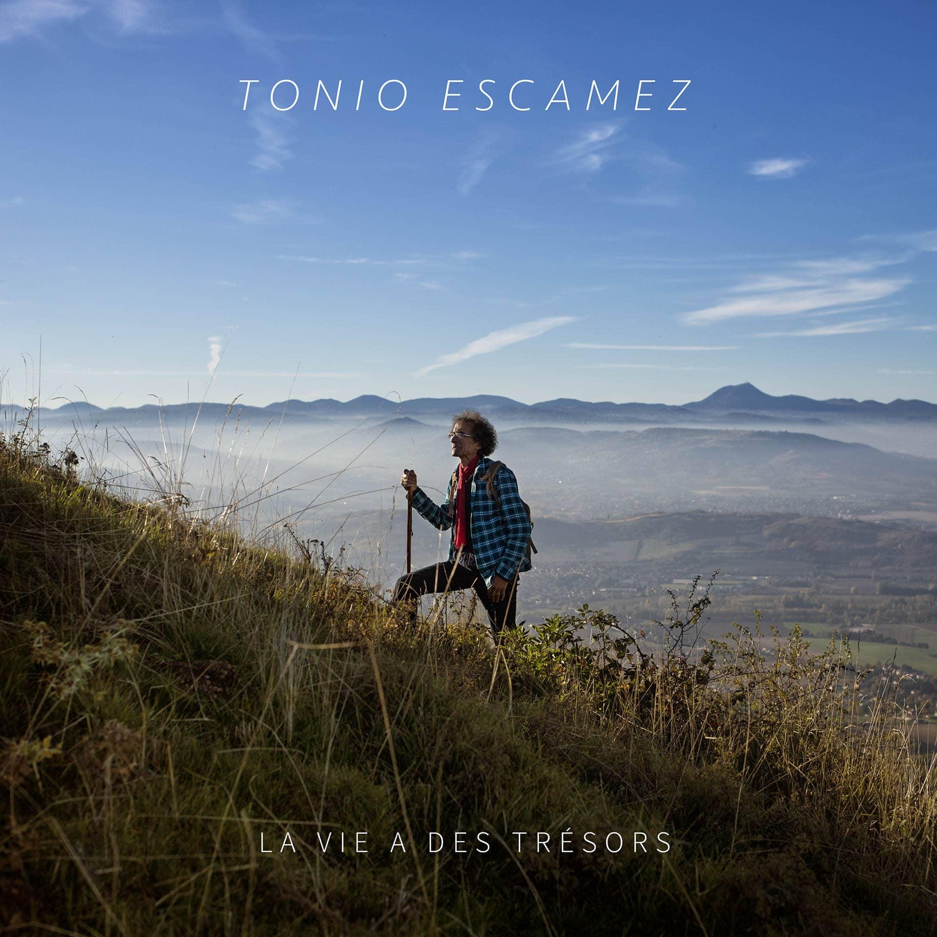Cover album pochette tonio escamez la vie a des trésors