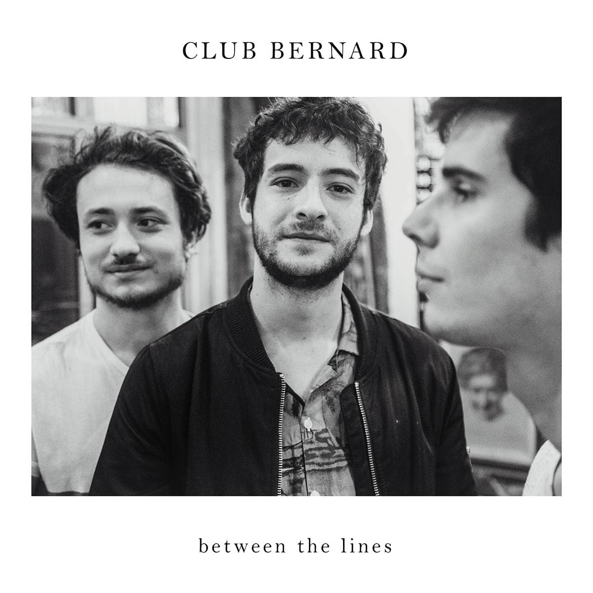 Cover album pochette club bernard between the lines