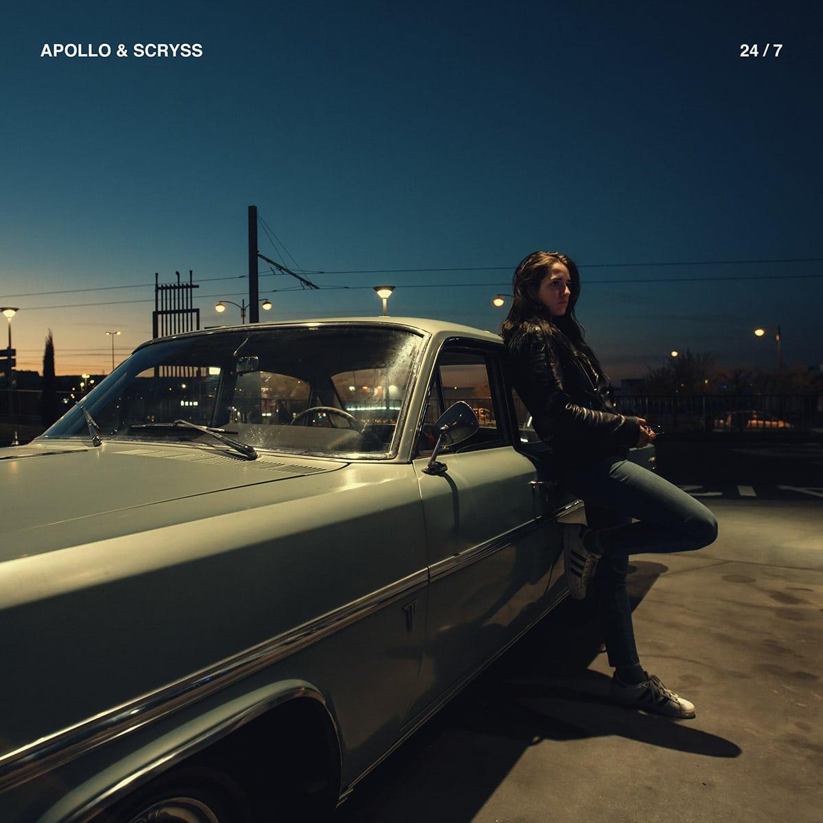Cover album pochette apollo scryss 24/7 clermont ferrand rap hip hop edn prod