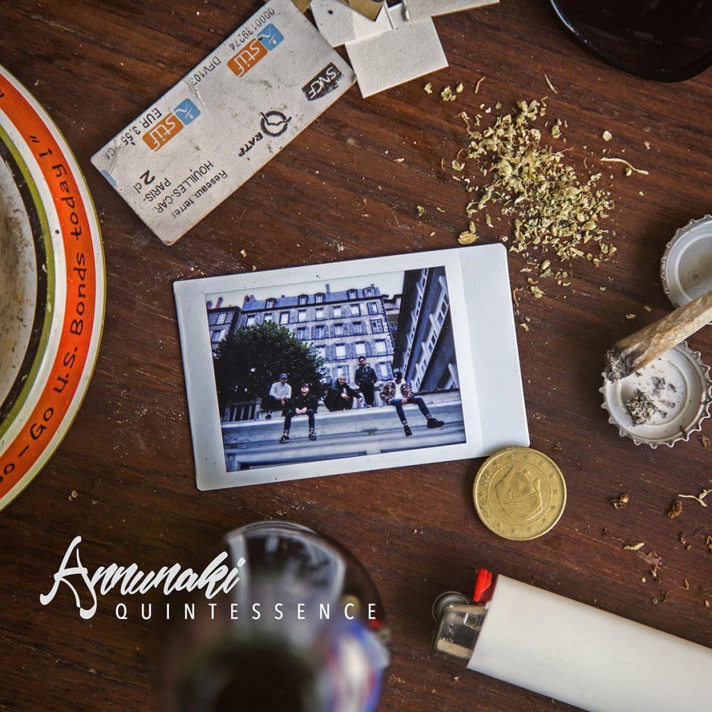 Cover album pochette annunaki quintessence clermont ferrand rap hip hop