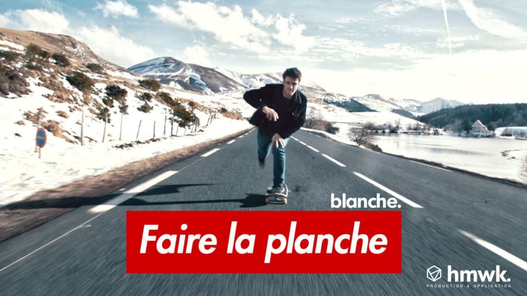 Planche skateboard blanche