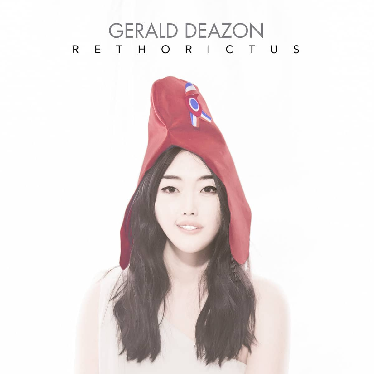 Cover album pochette gerald deazon rethorictus
