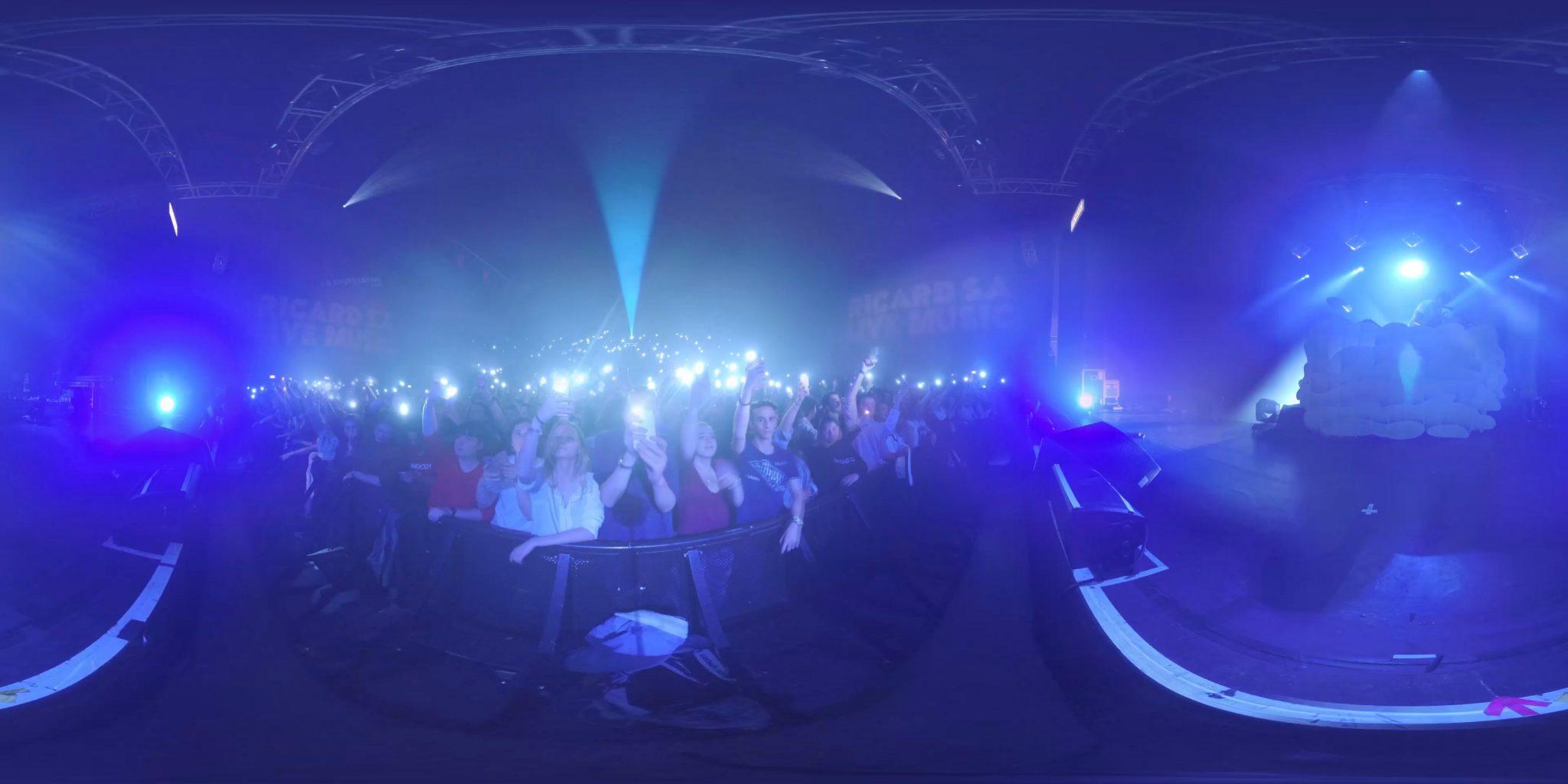 Concert en 360°: nouvelle manière de voir son artiste favori