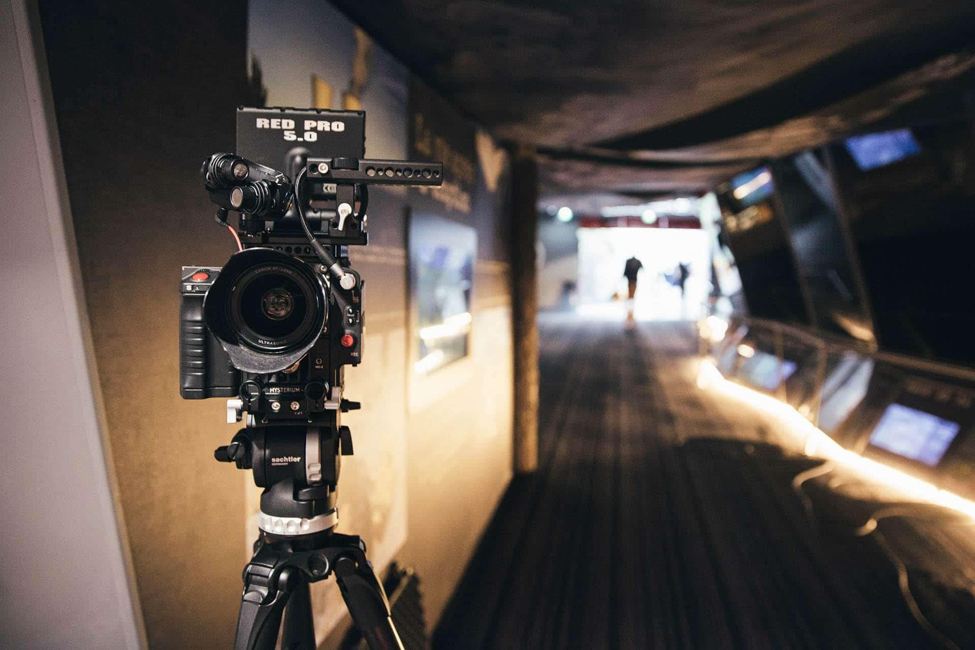 Le tournage