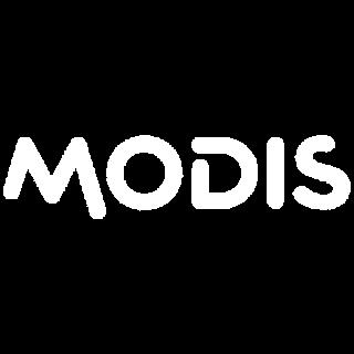 logo blanc modis