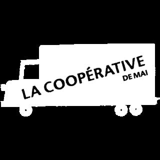 logo blanc coopérative de mai