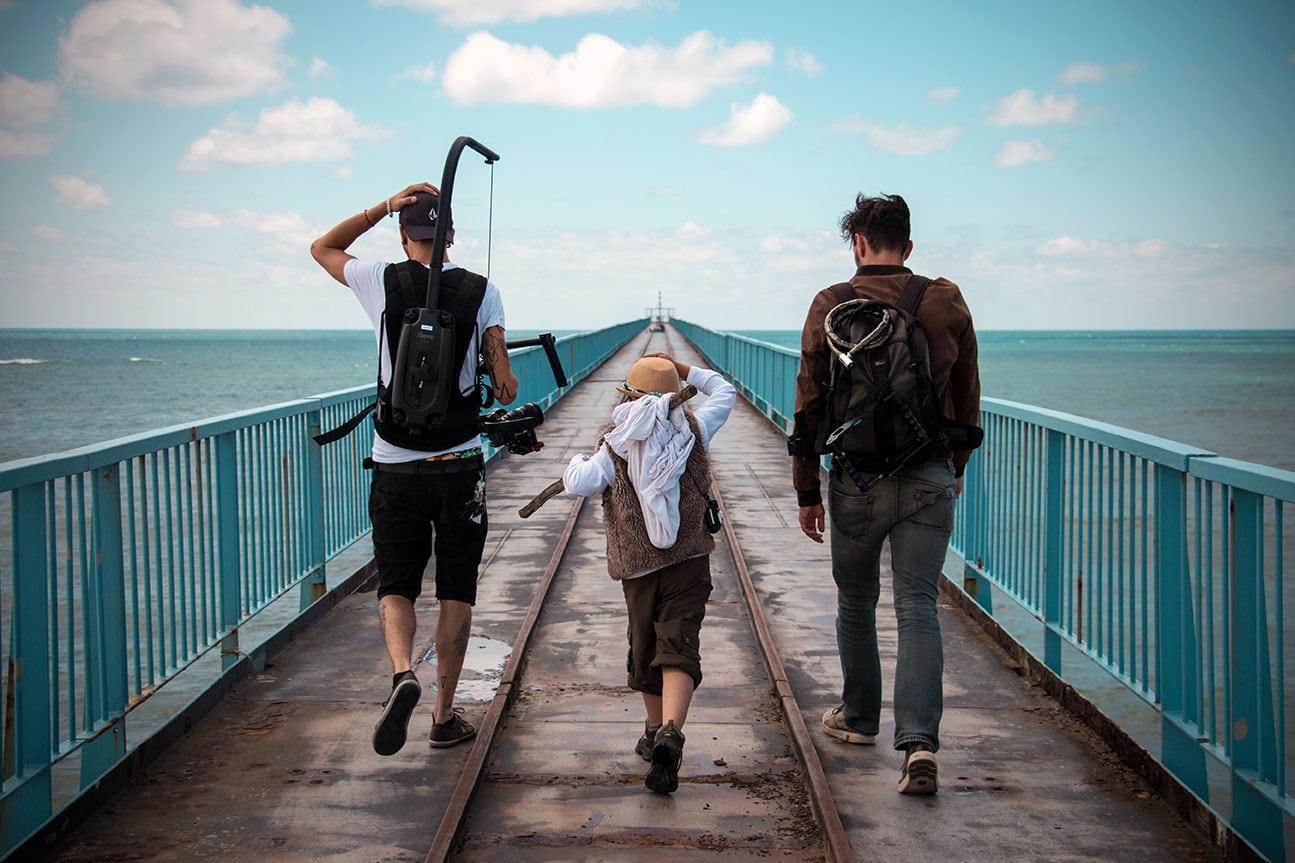 Sur le tournage de… Bam Hatson - Motionless Move