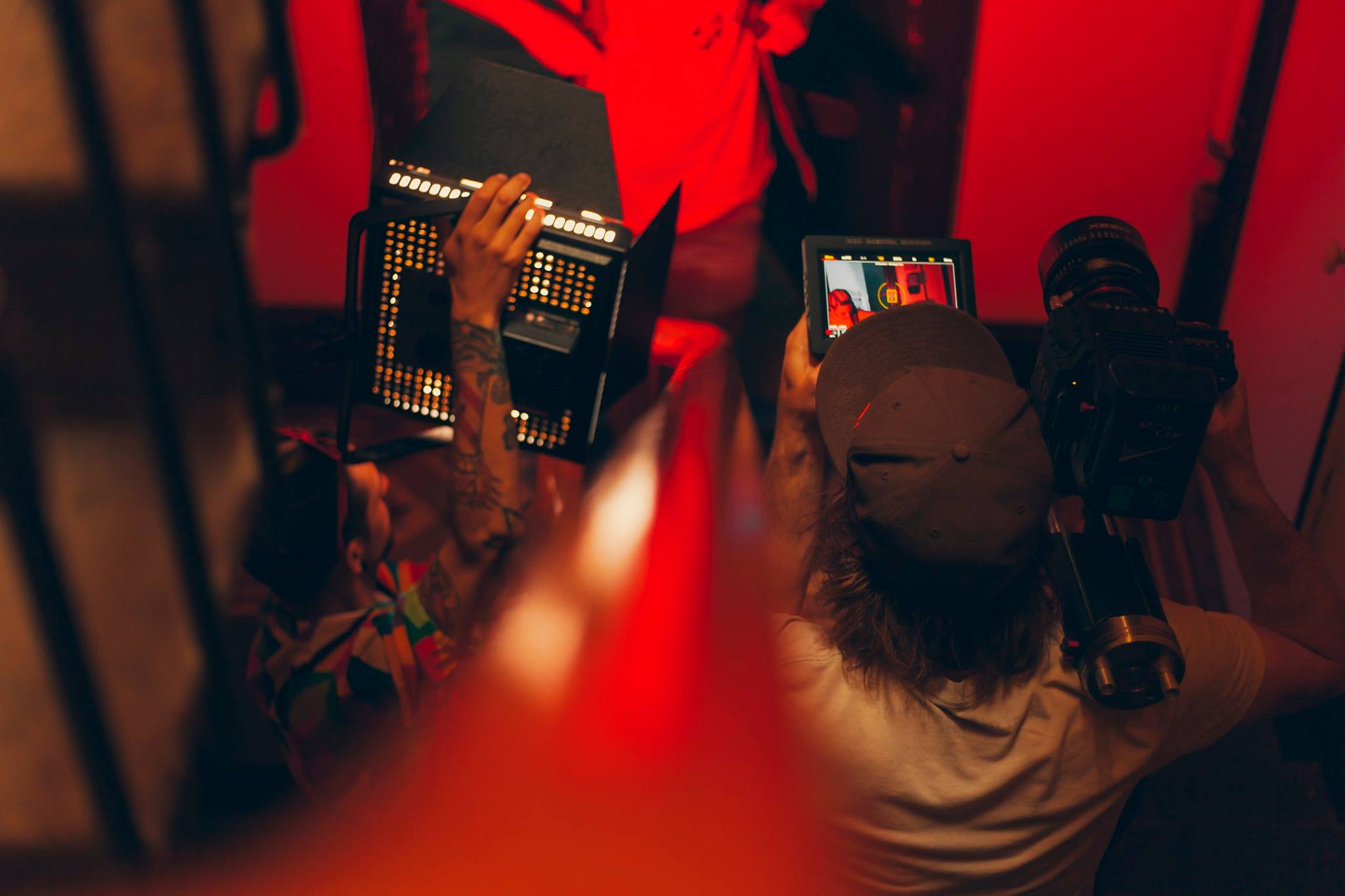 tournage krysalid clermont ferrand red epic led