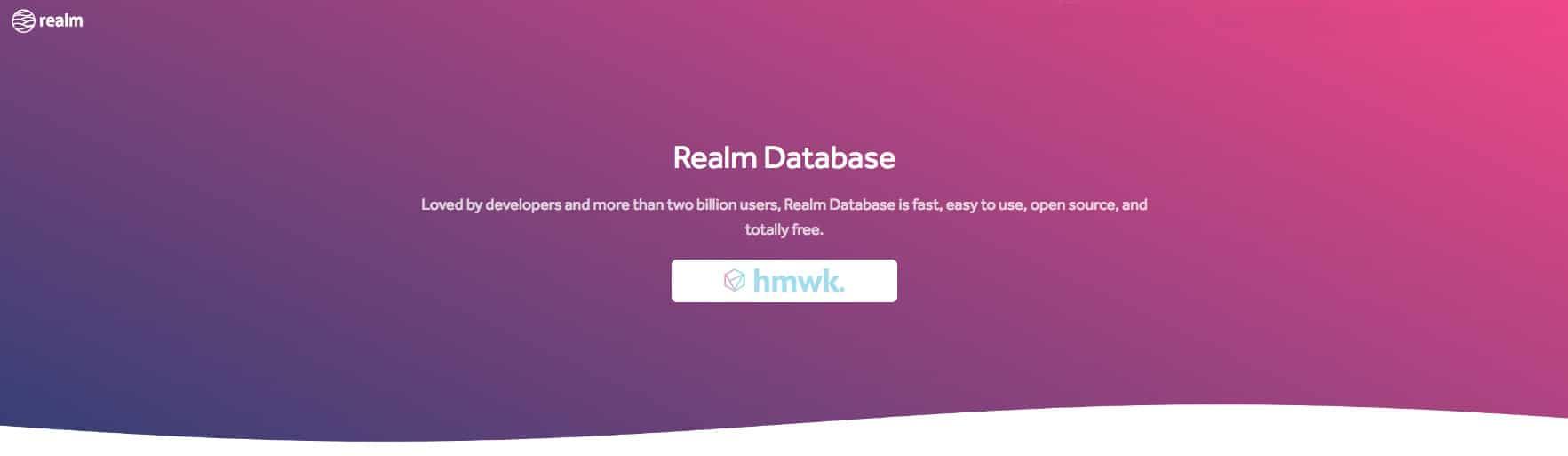 realm base de données android hmwk