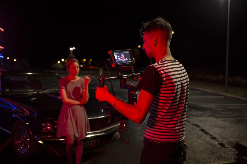 photo vivi sur tournage clip apollo & scryss