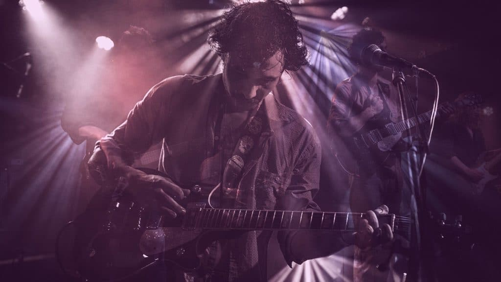 guitariste concert