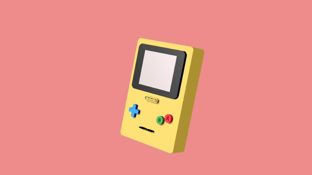 Motion design Gameboy