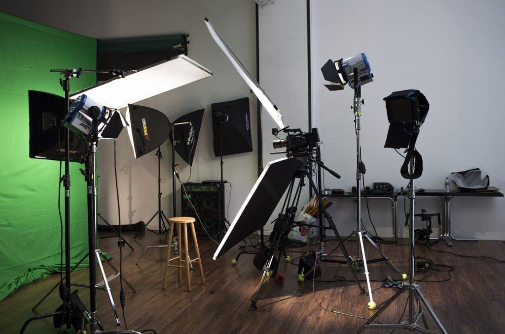 set-up éclairage vidéo