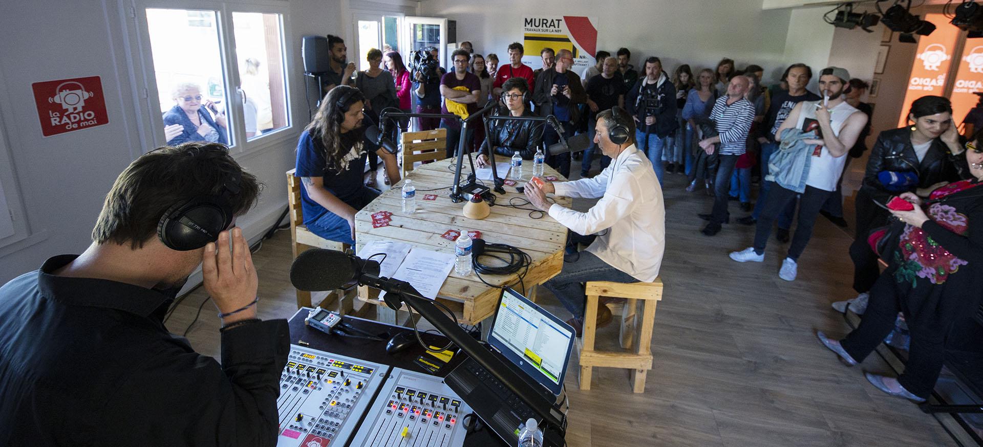 Inauguration de la Radio de Mai