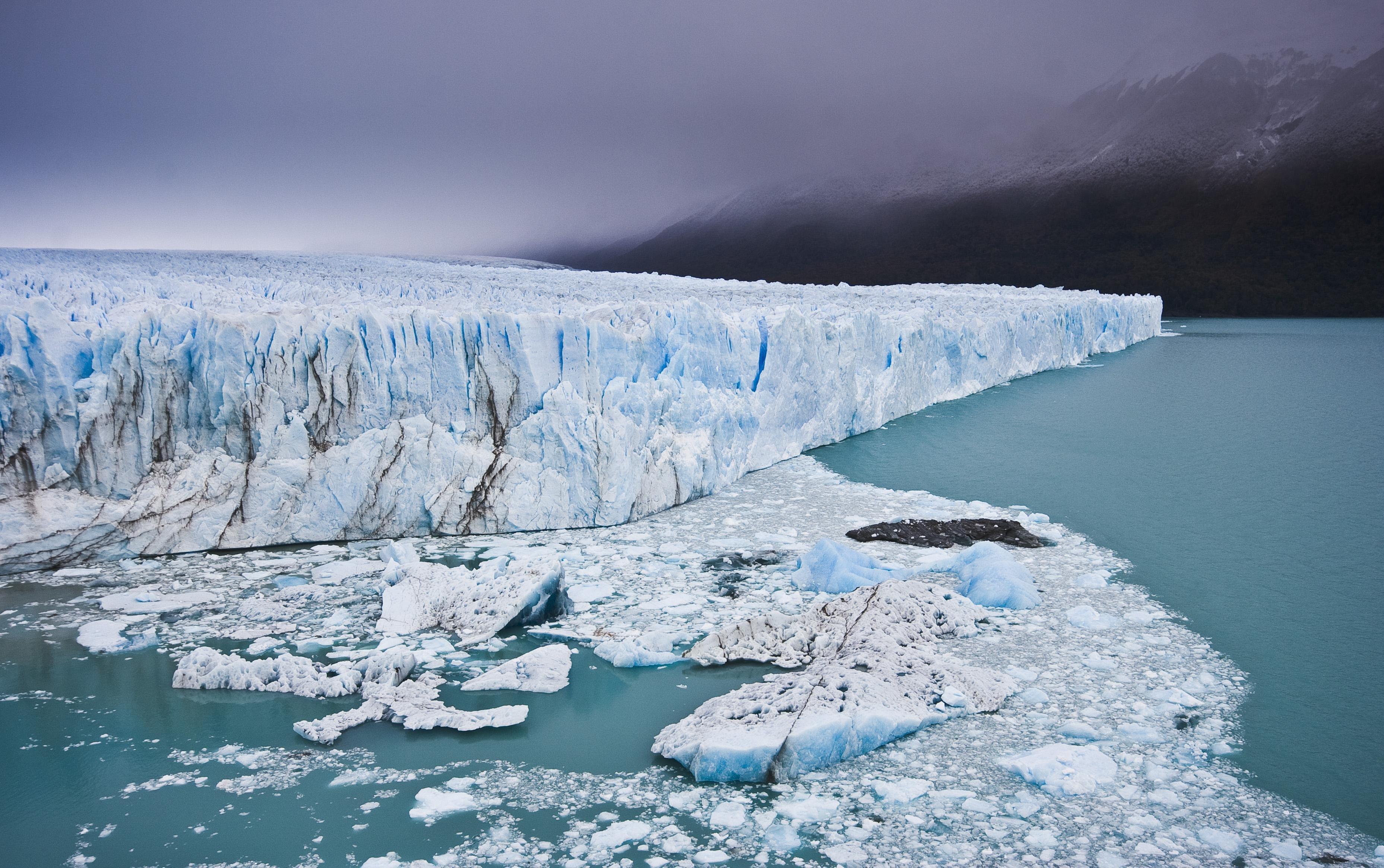 camera froid glacier