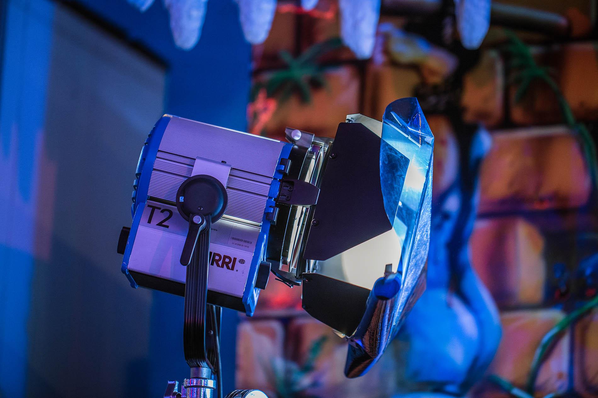 éclairage vidéo tournage clip