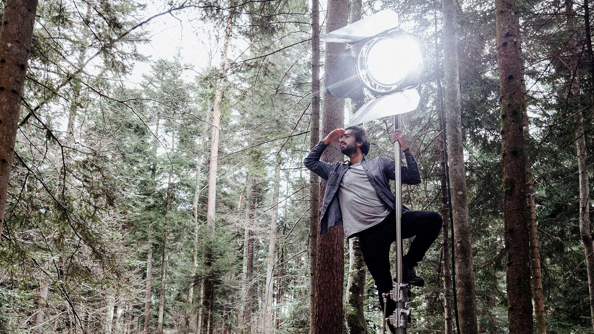 éclairages de tournage