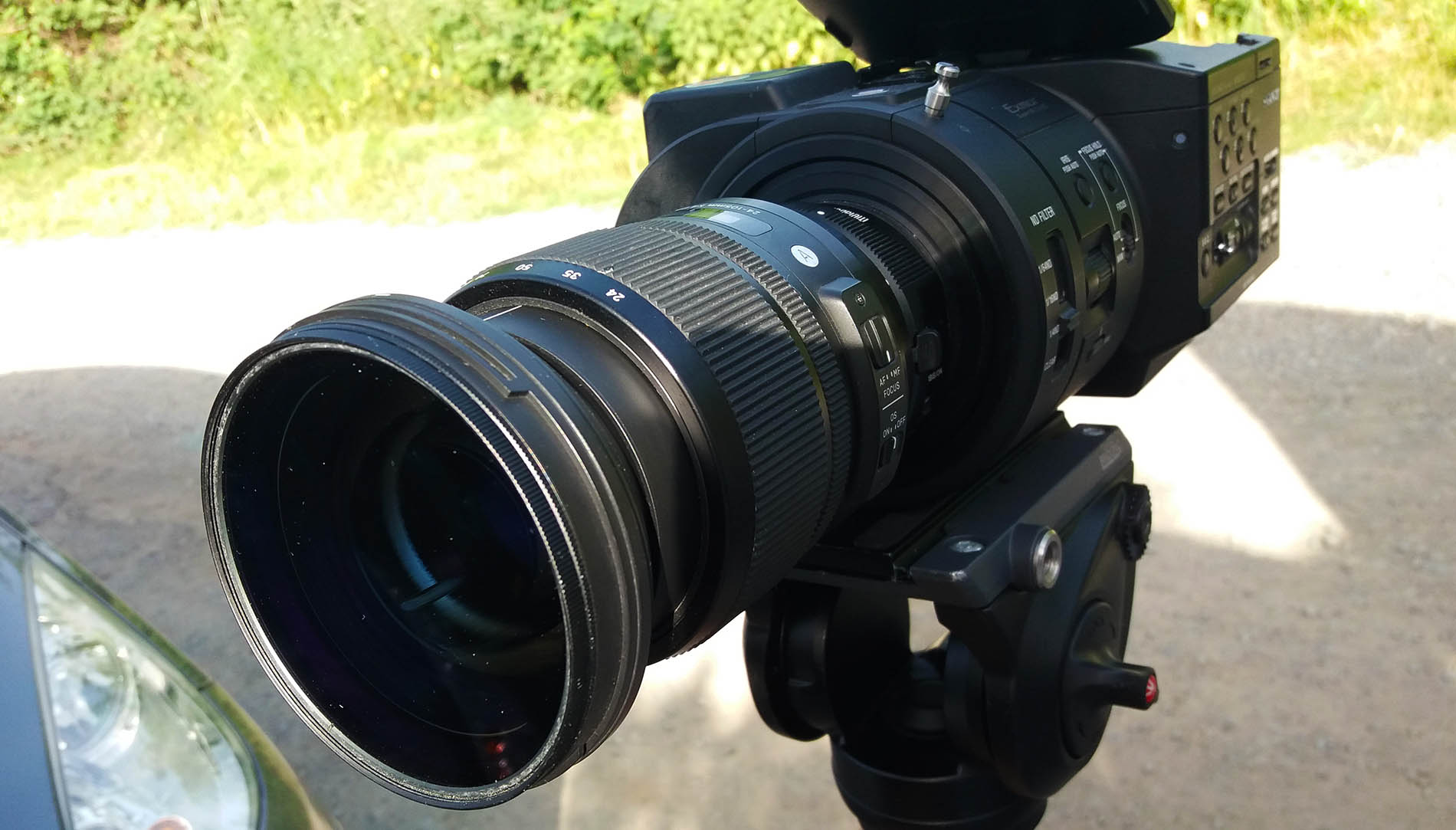 caméra tournage